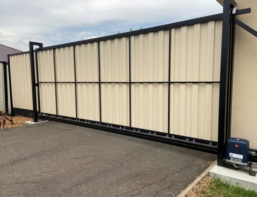 Colorbond Steel Gates