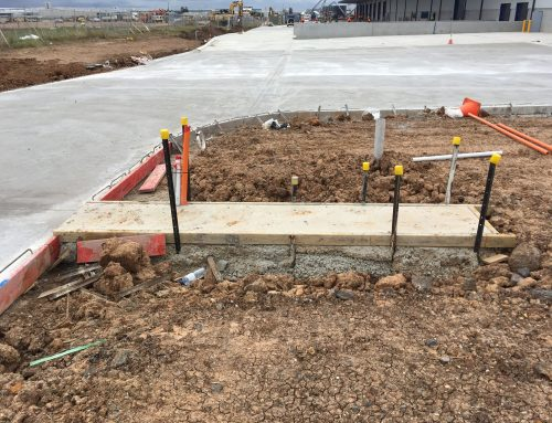 Fence Installation On A Concrete Pad