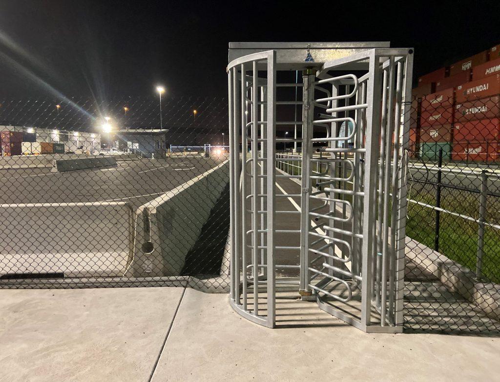 industrial turnstile