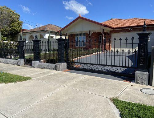 Decorative Residential Tubular Steel Fences