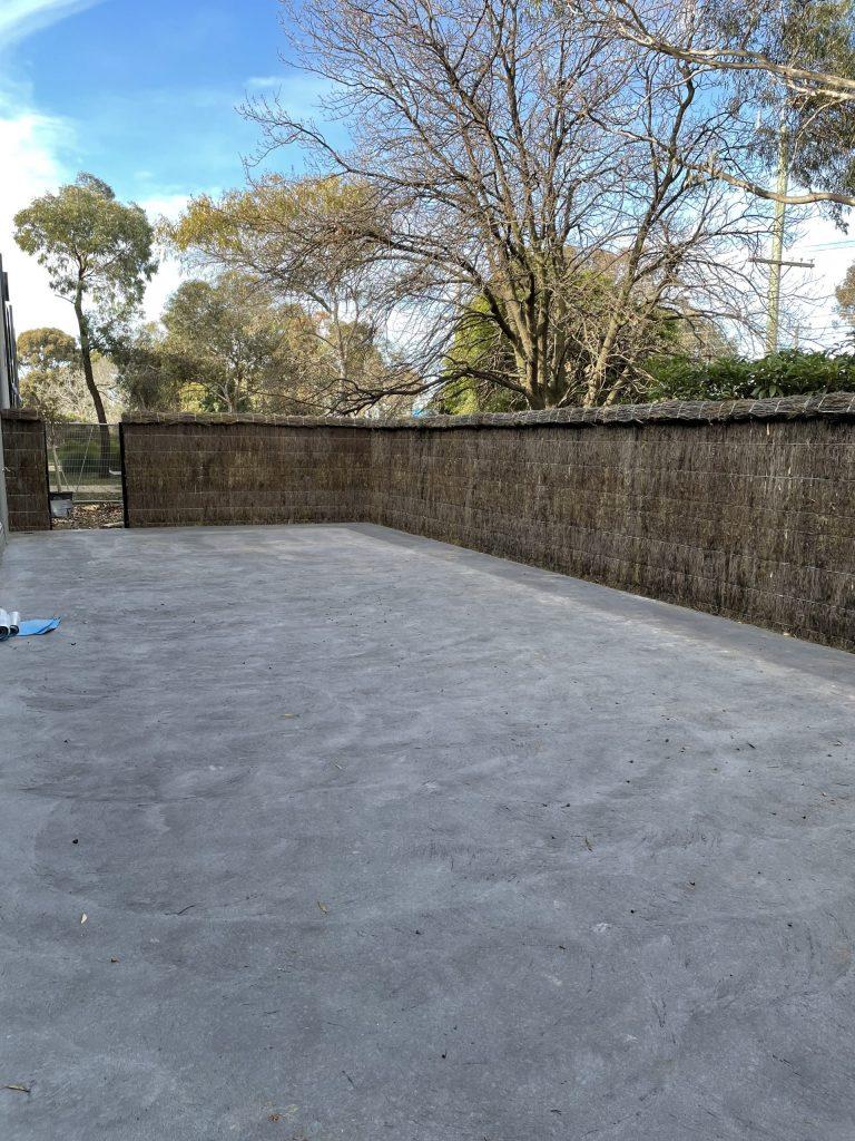 Brushwood fencing Melbourne
